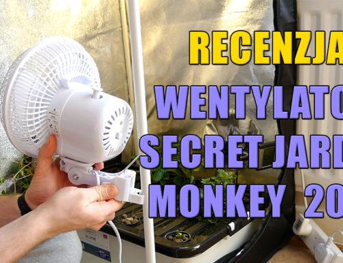 Recenzja montaż wentylator Secret Jardin MONKEY FAN 20W
