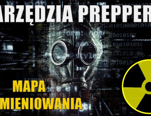Mapa radioaktywności na świecie 1# Narzędzia preppersa